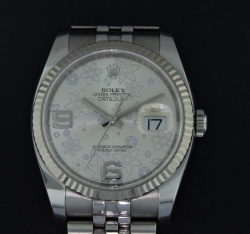 """Rolex Oyster Perpetual DateJust """"Floral"""""""