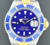 Rolex Submariner Blue Dial - SOLD