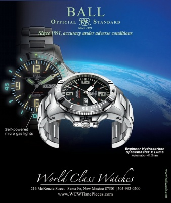 Ball Engineer Hydrocarbon Spacemaster X Lume - Ad